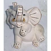 Сувенир Слон лежит на боку 4213 10х8 см. фото