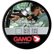 Пули пневматические GAMO PRO – MAGNUM 4,5 мм, 0,49 г (250шт) (100 шт/уп) фото