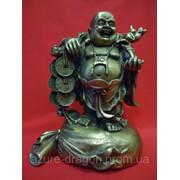 Статуэтка Хотей с мешком из бронзы 31866551 фото