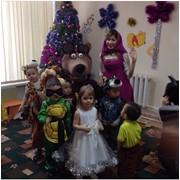 Аниматоры Маша и Медведь фото