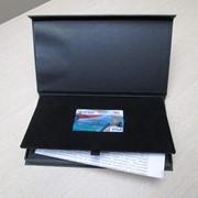 Упаковка бумажная для подарочных сертификатов и карт фото