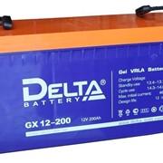 Гелевая аккумуляторная батарея Delta 200 А/ч GX12-200 фото