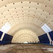 Зернохранилище надувное пневмокаркасное фото