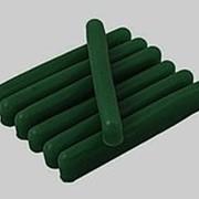 Воск цветной зеленый темный фото