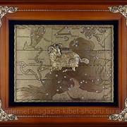Деревянная ключница настенная Овен фото