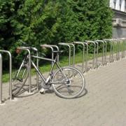 Велопарковки из нержавейки фото