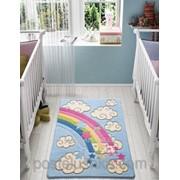 Коврик в детскую комнату Confetti Rainbow 100*150 см фото