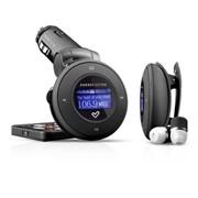 1204 CAR MP3 Energy Sistem FM-модулятор, Remote, Чёрный фото