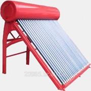 Солнечный водонагреватель СН-62 пассивного типа 110 литров фото