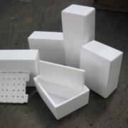 Производство изделий из пенопаста, упаковка. фото