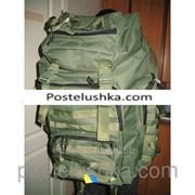 Рюкзак Тактик 75л зеленый, ткань-оксфорд 500D фото