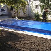 Тентовые накрытия для бассейнов. фото
