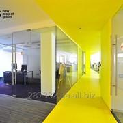 Стеклянные офисные перегородки фото