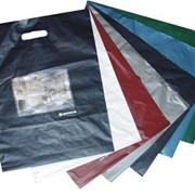 Различные пакеты из полиэтилена высокого и низкого давления, с петлевой и прорубной усиленной ручкой, типа «майка», с рисунком и без фото