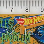 Линейка пластиковая 15см Hot Whells 28978 фото