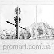 Модульна картина на полотні Вестмінстерський Центральний хол. Лондон код КМ6090-082 фото