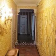 Лепка на стене из гипса киев Коридор фото