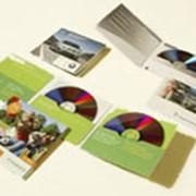 Красочное нанесение полноцветного изображения на дисках фото