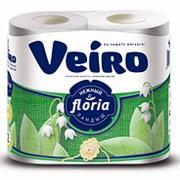 Туалетная бумага Linia Veiro Аромат Ландыш 2-сл 4рул (х10) фото