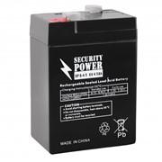 Аккумуляторная батарея Security Power SP 6V/4.5Ah фото