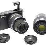 Фотоаппарат NIKON 1 J1 10-30&30-110mm KIT фото