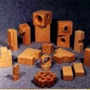 Изделия шамотные для футеровки дверей коксовых печей фото