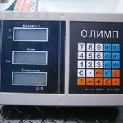 Весы торговые электронные на 300 кг.Платформа 45*60 см. Олимп фото
