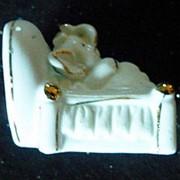 Сувенир Слон в кровати 3727 6х5 см. фото