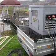 Аренда промышленного насосного оборудования, выкачка озёр, грязной воды, больших обемов воды фото