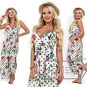 Модный облегченный комбинезон женский ( 3 цвета) - Белый SD/-678 фото