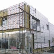 Монтаж навесных фасадов фото