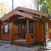 Изготовление деревянных домов, бань, беседок фото