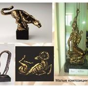 Изготовление скульптур малых форм фото