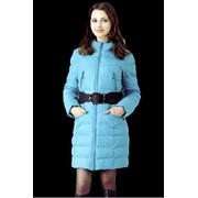 Пуховое пальто с капюшоном, Daser T11-550(335) фото