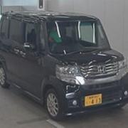 Микровэн HONDA N BOX CUSTOM кузов JF2 класса минивэн модификация G L Package г 2011 4WD пробег 159 т.км черный фото