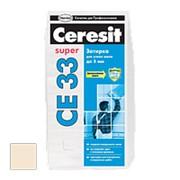"""Затирка цементная """"CE 33 Super"""" №41 Натура, 5 кг. Церезит фото"""