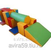 Трансформер мягкий детский Аэроплан 9 элементов ( фото