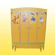 Шкафы для детского сада, Код 4625, шкафы для детского сада цена. фото