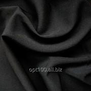 """Ткань костюмная """"Мадонна плюс"""" цвет черный (W-1203-1) фото"""