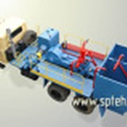 Установка насосная (агрегат цементировочный) УНБ-160х32 (УНБ-125х32) фото