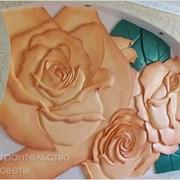 Фрески. роспись стен, мебели, декоративная отделка стен рельефной ручной лепниной. фото