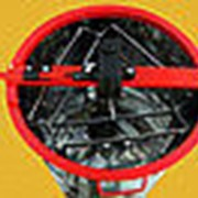 Медогонка 3-х рамочная поворотная нержавеющий бак и кассеты(сварные)ротор оцинкованный с крышкой и подставкой фото