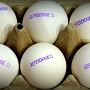 Яйцо куриное пищевое Деревенское фото