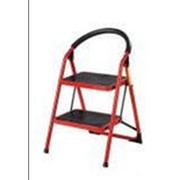 Лестница-стремянка 2 ступени красная KT-W2 фото