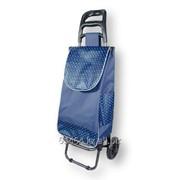 Хозяйственная сумка-тележка на 2-х колесах с эргономичной ручкой фото