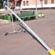Шнековый погрузчик зерновой ПЗ 130х7000 2,2 Квт, 220В фото