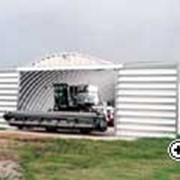 Ангары быстровозводимые фермы, Ангары из легких металлоконструкций фото