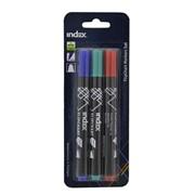 Набор маркеров для флипчарта, 3шт., блистер с е/п, (INDEX) фото