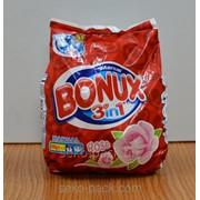 Стиральный Порошок Bonux 3в 1 для ручной стирки 400 гр (в мешке) фото