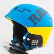 Шлем горнолыжный X-Road № 930-2 blue-yellow фото